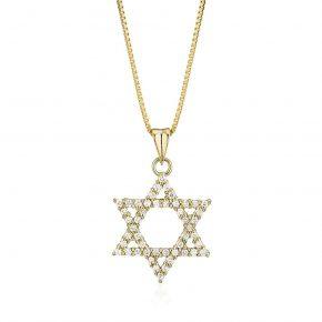 מגן דוד יהלומים
