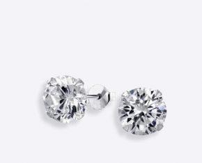 מבחר עגילי יהלומים