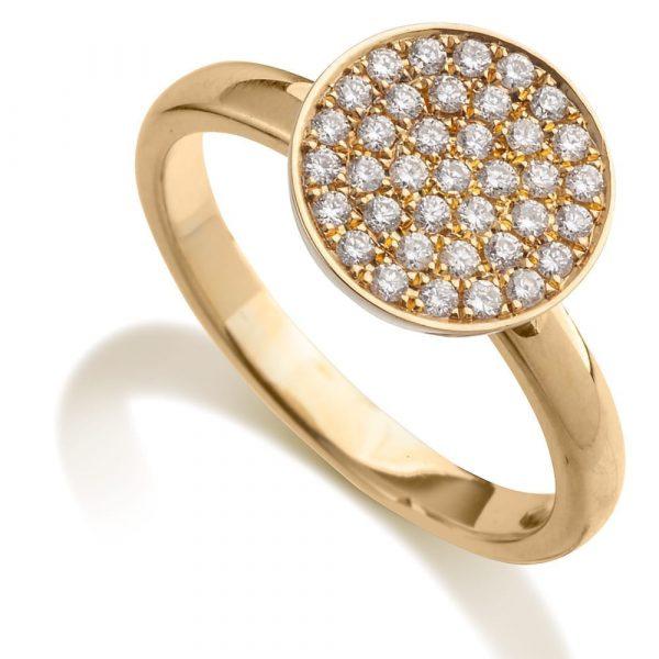 טבעת יהלומים AJR500