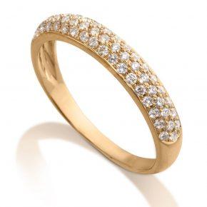 טבעת יהלומים AJR501