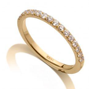 טבעת איטרניטי יהלומים AJR510