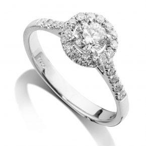 טבעת יהלומים AJR512