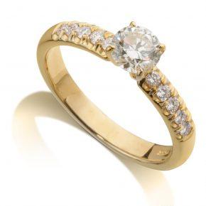 טבעת יהלומים AJR513