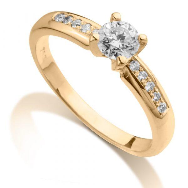טבעת יהלומים AJR515