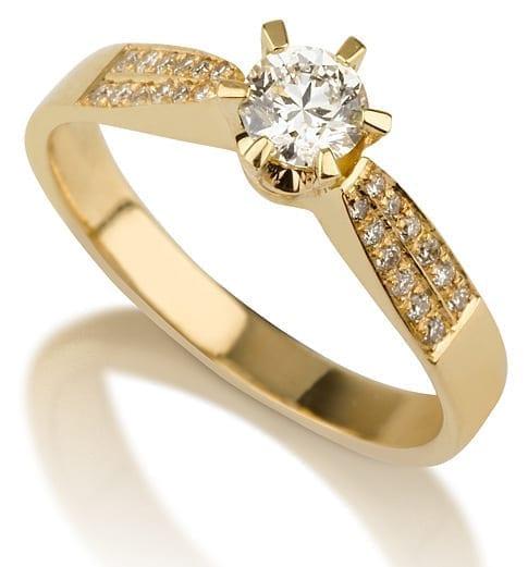 טבעת יהלומים AJR535