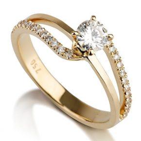 טבעת יהלומים AJR554