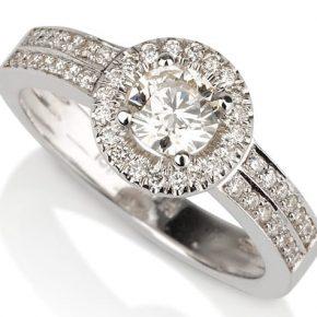טבעת יהלומים AJR556