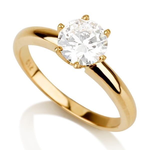 טבעת יהלום AJR570