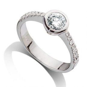 טבעת יהלום AJR577