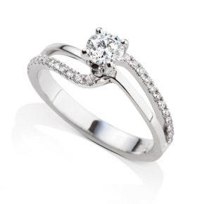 טבעת יהלומים AJR5021