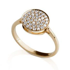 טבעת יהלומים AJR5030