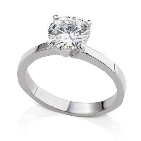 טבעת אירוסין יהלום 1.5 קראט