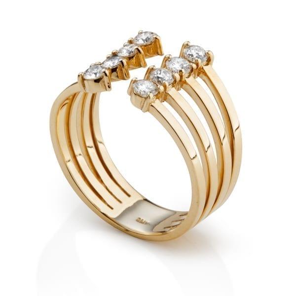 טבעת יהלומים AJR5053