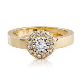 טבעת יהלומים מיוחדת