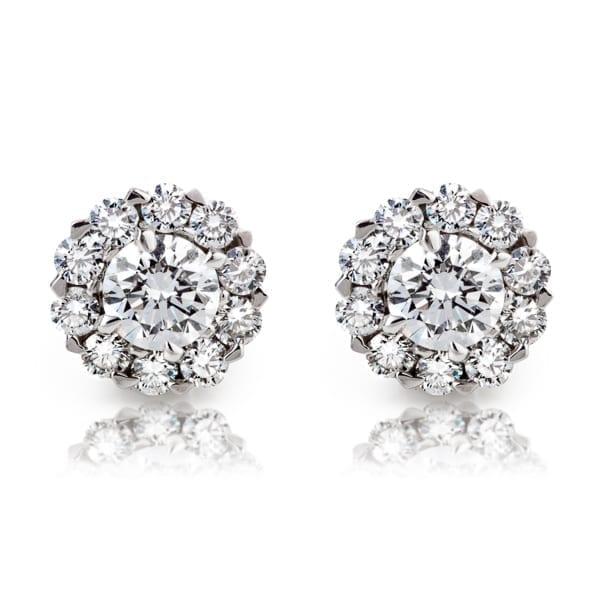 עגילי יהלומים AJE5072