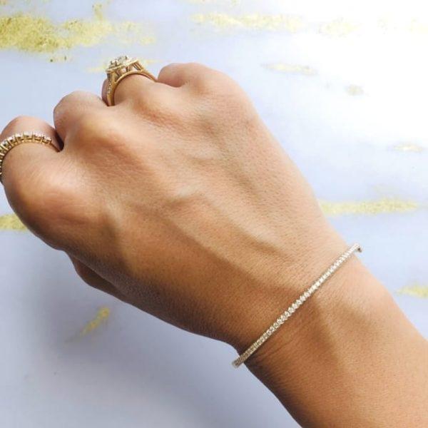 צמיד בנגל זהב