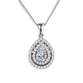 תליון יהלומים AJP5094