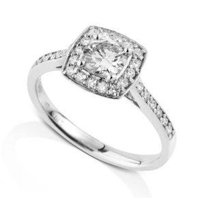 טבעת יהלומים AJR5069