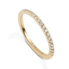 טבעת איטרניטי יהלומים AJR5082