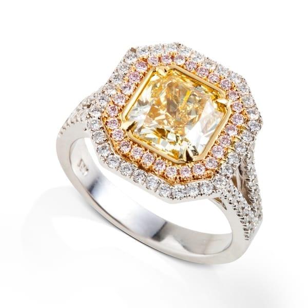 טבעת יהלומים פנסי