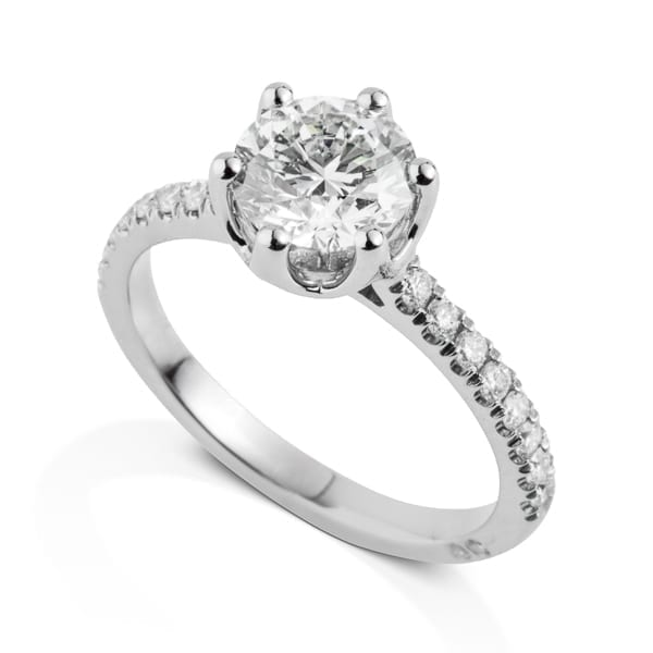 טבעת יהלום 1 קראט AJR999