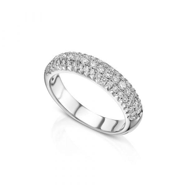 טבעת פווה יהלומים