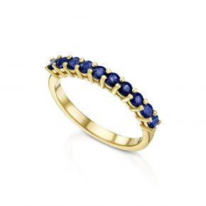טבעת אבני ספיר AJR5220