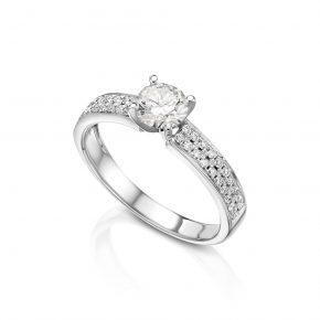 טבעת יהלומים אירוסין AJR5251