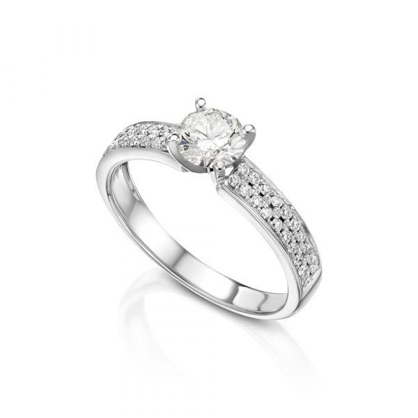 טבעת יהלומים אירוסין