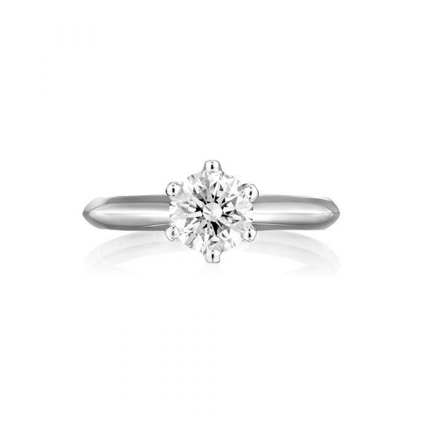 טבעת יהלום 1 קראט AJR5260