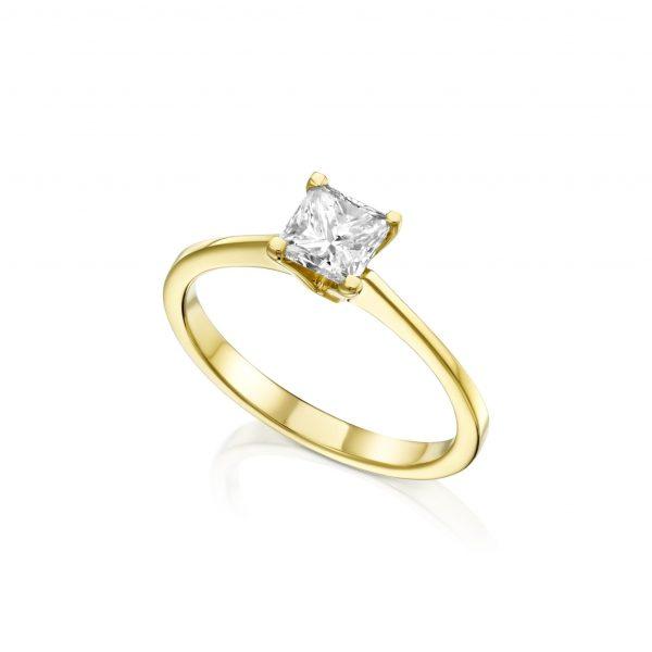 טבעת יהלום פרינסס 5061A