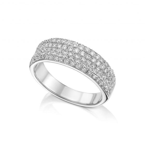 טבעת פווה יהלומים AJR5322