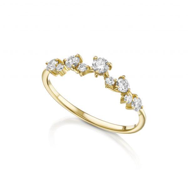 טבעת יהלומים דגם 5349