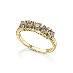 טבעת יהלומי קוניאק דגם 5353