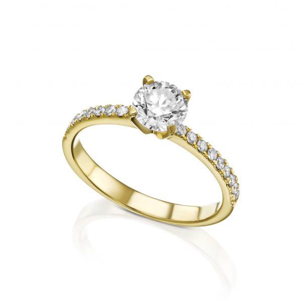 טבעת אירוסין קלאסית דגם 5372