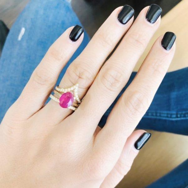 טבעת רובי 3.65 קראט