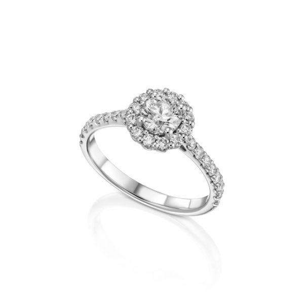 טבעת אירוסין יהלומים