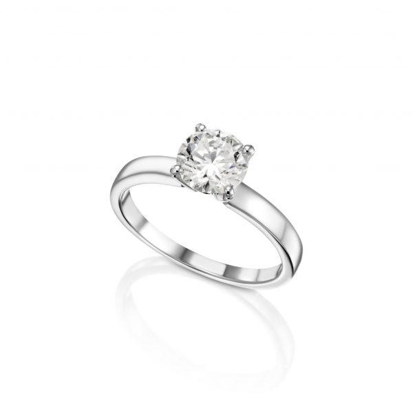 טבעת אירוסין 0.70 קראט