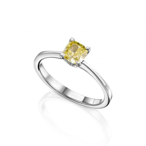טבעת יהלום קולקציית FANCY