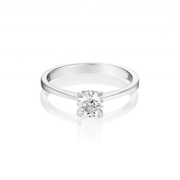 טבעת יהלום חצי קראט
