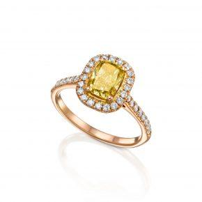 טבעת יהלומים קולקציית FANCY