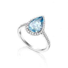 טבעת טיפה אקווה מרין
